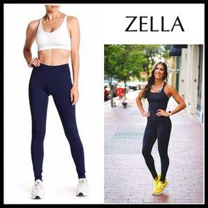 ZELLA LEGGINGS NAVY BLUE ACTIVE RUNNING WORKOUT